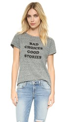 A Fine Line Hastings Bad Choices Tee Heather Grey