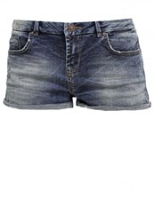 Ltb Judie Denim Shorts Aryana Wash Blue Denim