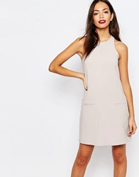 New Look Tailored Mini Dress Pink
