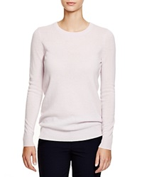 C By Bloomingdale's Crewneck Cashmere Sweater Lavender Frost