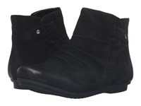 Earth Bliss Black Soft Buck Women's Pull On Boots