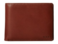 Tumi Chambers Global Removable Passcase Id Wallet Teak Bill Fold Wallet Brown