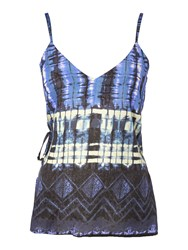Label Lab Reflection Print Cami Blue