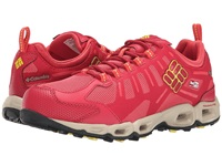 Columbia Ventfreak Outdry Sunset Red Acid Yellow Women's Shoes Pink