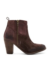 Rebels Shelby Booties Chocolate