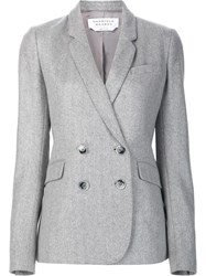Gabriela Hearst Double Breasted Blazer Grey