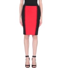 Alexander Mcqueen Textured Bodycon Pencil Skirt