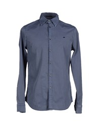 Gas Jeans Gas Shirts Shirts Men Grey