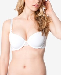 Motherhood Maternity Underwire Nursing Demi Bra White