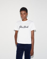 Julien David T Shirt White Black