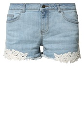Buffalo Denim Shorts Light Blue