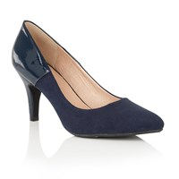 Lotus Betulia Pointed Toe Courts Navy