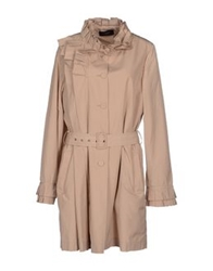 Clips Full Length Jackets Beige
