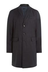 Burberry London Virgin Wool Coat Black