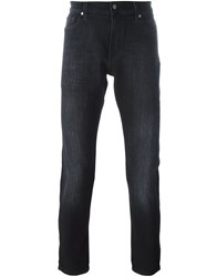 7 For All Mankind 'Ronnie' Skinny Jeans Black