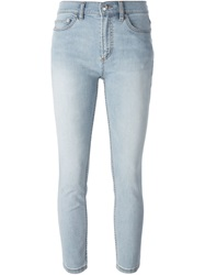 Marc By Marc Jacobs 'Ella' Cropped Skinny Jeans Blue