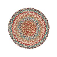Braided Rug Company Placemats Set Of 6 Carnival