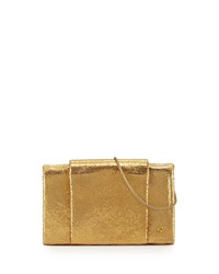 Metallic Leather Wallet On A Chain Gold Halston Heritage