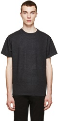 Christopher Kane Grey Checked Flannel T Shirt