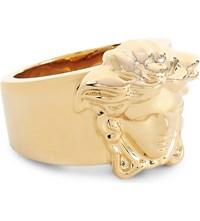 Versace Medusa Gold Plated Ring