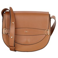 Nica Mila Saddle Across Body Bag Chesnut