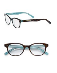 Kate Spade 49Mm Rebecca Reading Glasses Blue Brown Tortoise
