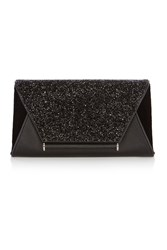Coast Lily Sparkle Clutch Bag Black