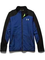 Under Armour Tips Coldgear Casual Full Zip Quilted Jacket Cobalt