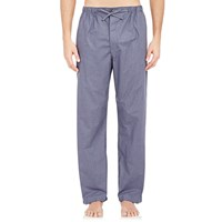 Barneys New York Checked Pajama Pants Charcoal