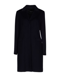 Fabrizio Lenzi Coats Dark Blue