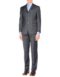 Enrico Coveri Suits And Jackets Suits Men Steel Grey