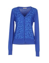 Darling Knitwear Cardigans Women Blue