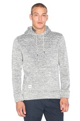 Native Youth Bonded Knit Hoodie Gray
