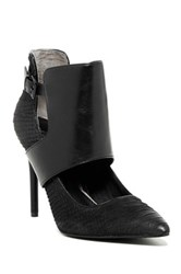 Kenneth Cole Bonnet Ankle Cuff Pump Black