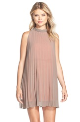 Bb Dakota 'Devlan' Pleated Trapeze Dress Churro