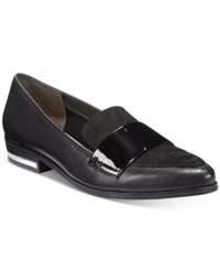 Bar Iii Involve Oxford Loafers Only At Macy's Women's Shoes Black