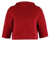Kiomi Sweatshirt Dark Red Bordeaux