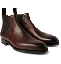 Edward Green Camden Burnished Leather Chelsea Boots