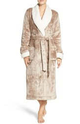Nordstrom Women's Lingerie Frosted Plush Robe