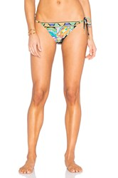 Trina Turk Sea Garden Tie Side Hipster Bottom Black