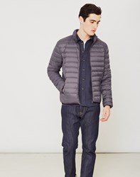 Schott Oakland Light Weight Down Jacket Grey