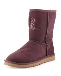 Classic Short Boot Dark Purple Ugg Australia Port Drk Purple