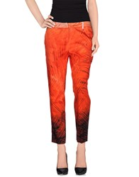Les Copains Trousers Casual Trousers Women Red