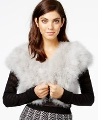 Inc International Concepts Marabou Bolero Shrug Only At Macy's