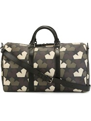 Ports 1961 Star Camouflage Print Weekender Multicolour