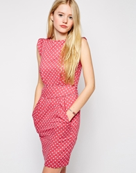 Emily And Fin Emily And Fin Printed Shift Dress 762Red