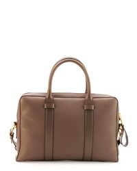 Tom Ford Buckley Zip Briefcase Brown