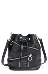 Marc By Marc Jacobs 'Small Too Hot To Handle' Zip Leather Bucket Bag