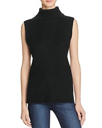 French Connection Abel Ribbed Turtleneck Sweater Black