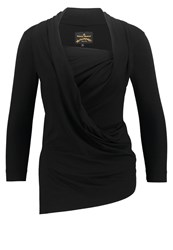 Vivienne Westwood Anglomania Long Sleeved Top Black